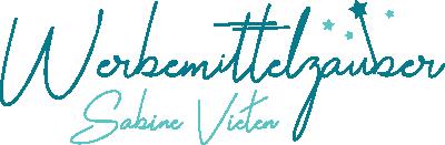 Logo Werbemittelzauber Sabine Vieten - Zauberstab
